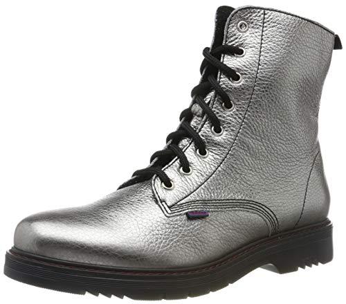 Richter Kinderschuhe Damen Prisma Combat Boots, Silber (Altsilber 9600), 36 EU