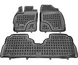 Alfombrillas de Goma Compatible con Toyota PRIUS+ (2012 - 2015) + Limpiador de Plasticos (Regalo) | Accesorios Coche Alfombrilla Suelo