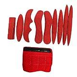 Hellery Almohadillas de Espuma para Casco 10er / Set, Mentón de Protección de Esponja de Revestimiento Anticolisión de Espuma