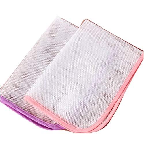 ZJY Haushaltsbügeltuch Hochtemperatur Wärmedämmung Tuch Eisenbügelbrett Bügeln Kleidung Schutzpolster Wärmeisolierung (Size : Large)