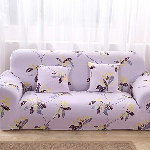Met armleuningen, overtrek voor bank, voor woonkamer, slaapkamer, elastisch, sofacover, leer, sofa-cover, sofa-afdekking, afdekking, 32 – 190 – 230 cm