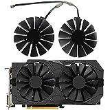 Dotodo 129215SM PLD10010S12H 95mm Ventiladores de tarjetas gráficas para ASUS Strix RX 470 580 570 GTX 1050Ti 1070Ti 1080Ti Gaming Video Card Cooling Fan