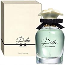 Dolce by Dolce & Gabbana Eau de Parfum Spray for Women, Silver , 2.5 Fluid Ounce