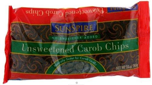 SunSpire Unsweetened Carob Baking Chips - 10 oz