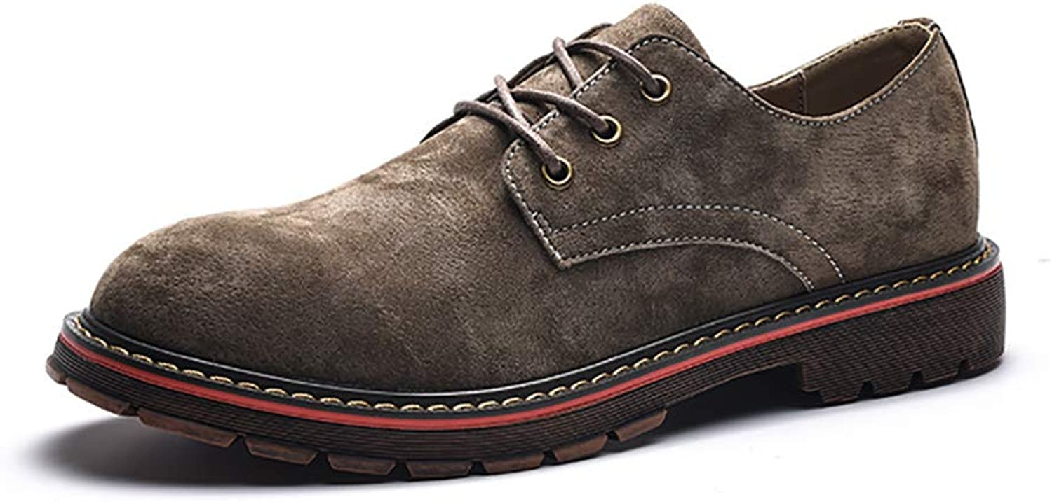 Martin Boots Men's shoes Europe And The United States Men's Low To Help England Retro Casual Leather shoes Men