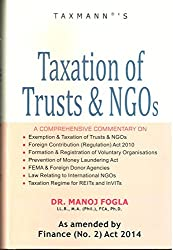 Taxation of NGO's