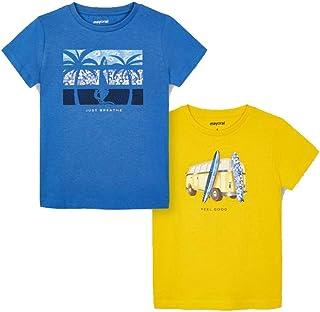 Mayoral Feel Good - Set di 2 magliette a maniche corte da bambino, modello 3033