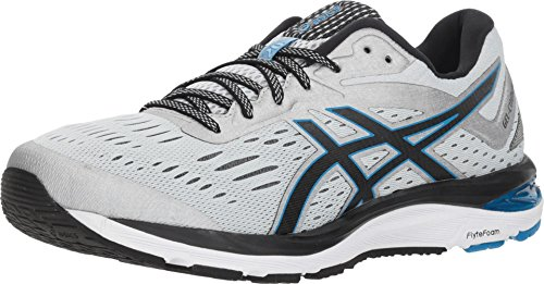ASICS Men's Gel-Cumulus 20 Running Shoes, 12M, Glacier Grey/Black
