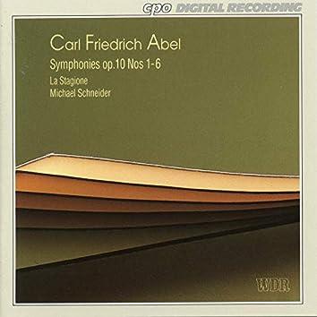 Abel: Symphonies, Op. 10