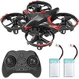 Redpawz R012 Mini Drone Enfant et Débutant, Secouer et Jeter pour Voler, Obstacle Détection...