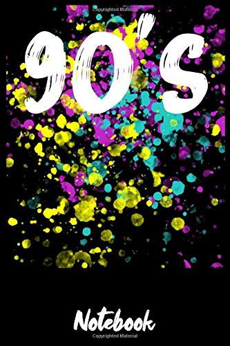 Notebook: Notizbuch 90Er Jahre Vintage Din A5 Geschenk Für 90 Er Oldschool Fan / Organizer Mit 120 Seiten Notizen Schreibheft Liniert Planer / Tagebuch Oder Notizheft Für Neunziger Kinder