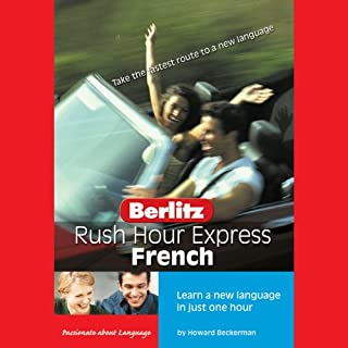 Rush Hour Express French audiobook cover art