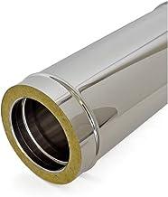 Tubo doppia parete in acciaio inox per canne fumarie L 250 mm (DN 180-230)