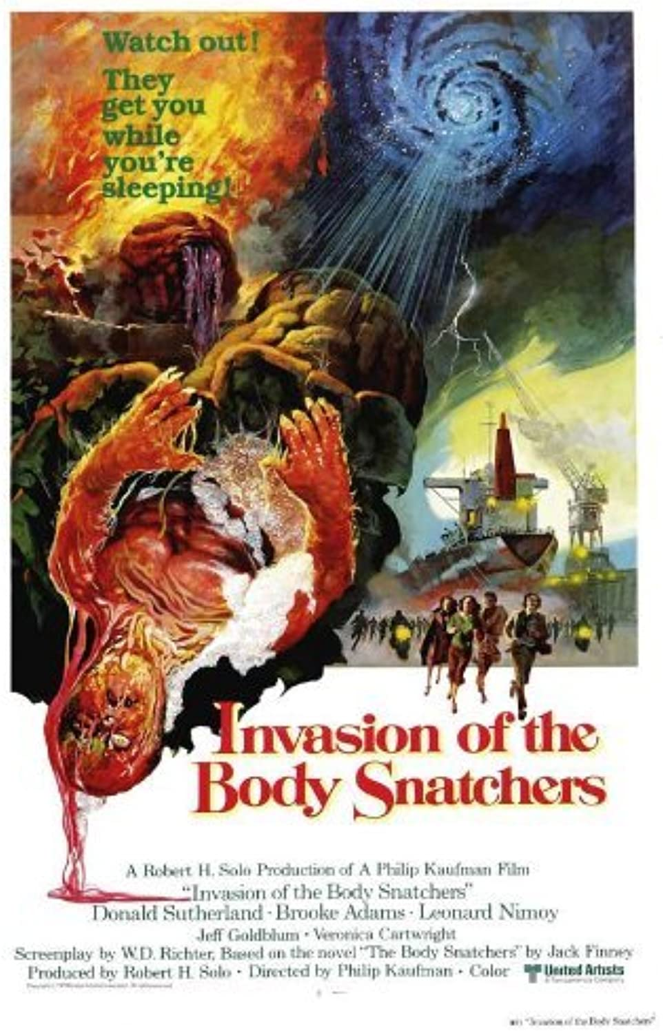 27 x 40 Invasion of the Body Snatchers Movie Poster by postersdepeliculas