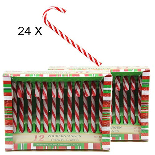 Bada Bing Candy Cane Candy Canes Lollie Christmas Striped Gift 24 Tlg