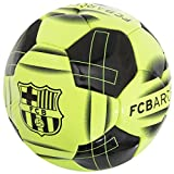 FC Barcelona Fluro Football Size 5 Club Crest 26 Panel Stitched Official Product -