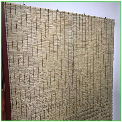 Bamboe Oprolraam Blinds Light Filtering RolluikenNatuurlijke Stro GordijnenPrivacy Shade Goed GemaaktStevige Hardware