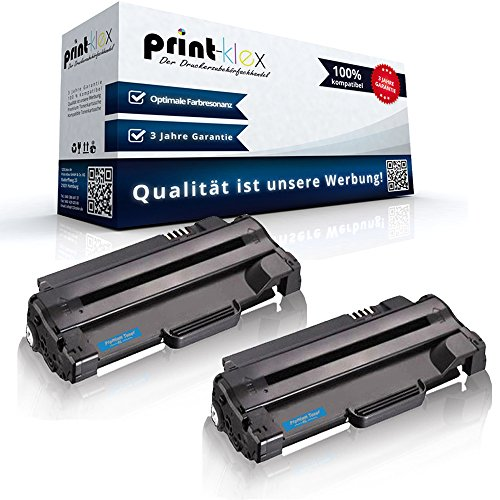 Print-Klex 2 x Black Toner cartridges, Compatible with for Dell 1130, 1130n, 1133, 1135n, 59310961 7H53W, 593-10961, 59310962, 593-10962, P9H7G 3J11D, Office Pro Series