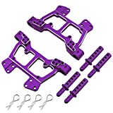 Hobbypark 188822 Aluminum Front & Rear Shock Tower w/ Body Post Mount 188837 for 1/10 Redcat Volcano EPX / Pro S30 Exceed RC Infinitive Electric / Nitro Power Monster Truck Upgrade Parts