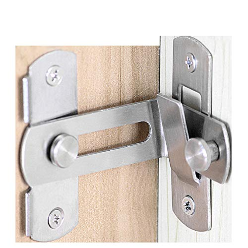 Right Angle Padlock Buckle Buckle Buckle Buckle 304 Stainless Steel Brushed Nickel