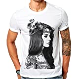 Lana Q Del T Rey Wonderful Flower Mens T Shirt Tee Tops Casual Premium (L)