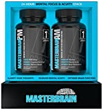 MasterBrain - Cognitive Support for Focus, Memory & Clarity - Premium Nootropic Stack - 30 Day Supply