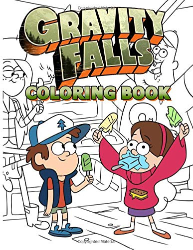 Gravity Falls Coloring Book: Coloring Books For Adults Gravity Falls 2. (Workbook And Activity Books)