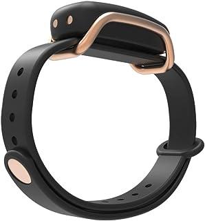Bond Touch in Black - Single Bracelet, Gold Loop - Long Distance Connection Bracelets