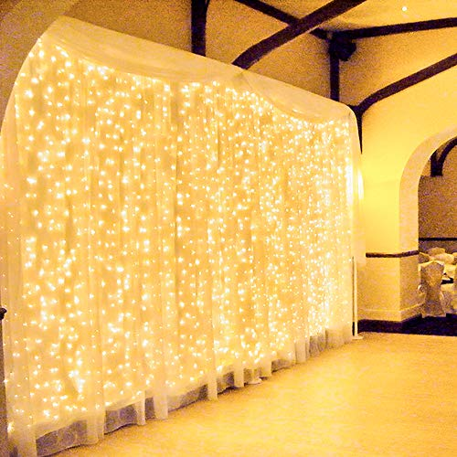 600 LED 6Mx3M Zorela Tenda Luminosa Natale Esterno...