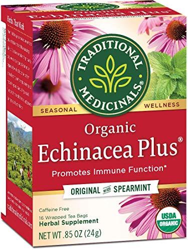 Traditional Medicinals Tea Echinacea Plus Org, 16...
