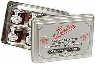Tiptree Silver Tin Set Of 6 Mini Jars