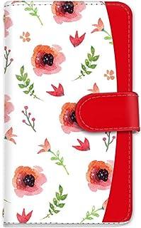 rafre/DIGNO W KYV40 手帳型 ケース カード スマホケース 携帯ケース 携帯カバー スマホカバー KYOCERA 京セラ ラフレ/ディグノ ダブル au SIMフリー vc-201 華やか 花柄 かわいい
