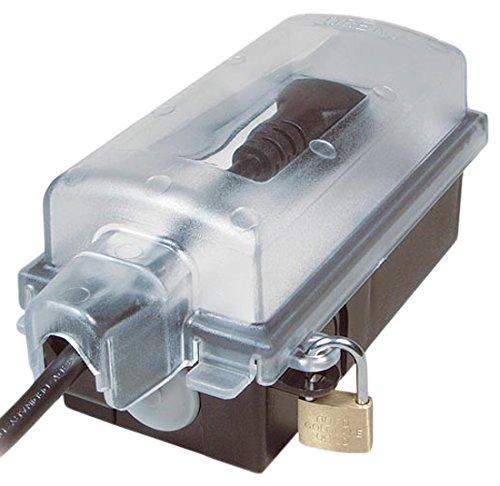 Inter Bär 9015-002.01 Außensteckdose IP 44 Winkelstecker