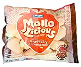 Mallo-Licious Strawberry Marshmallows 7 Oz! Chocolate Filled Strawberry Marshmallow! Soft and Creamy Colored Marshmallows! Delicious And Tasty Marshmallow Treats! Choose Your Flavor! (Strawberry)