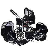 Poussette combinée 3en1 roues pivotantes Siège auto Matrix 2 by ChillyKids Rock 3en1 avec siège auto
