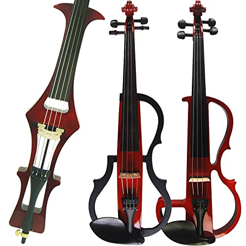Leeche Handmade Professional Solid Wood Electric Cello 4/4 Full Size Silent Electric Cello-1803
