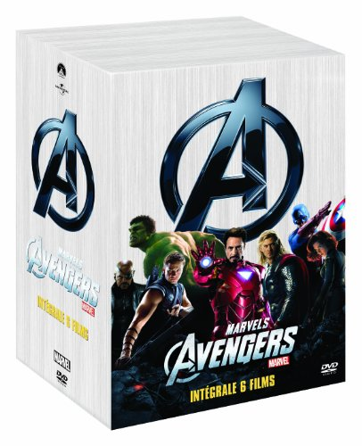 Marvel complete collection : iron man ; iron man 2 ; the incredible hulk ; thor ; captain america [FR Import]