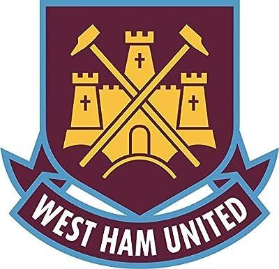 Set of 3 - West Ham United F.C. Soccer Sticker Graphic - Made to Last - Premium Quality Vinyl Sticker