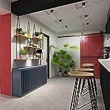 Estanteria pared, Estante de pared de cuerda de cáñamo, 6 particiones para decoración gratuita, decoración de pared de estilo minimalista europeo, utilizado para comedor / dormitorio / sala de estar