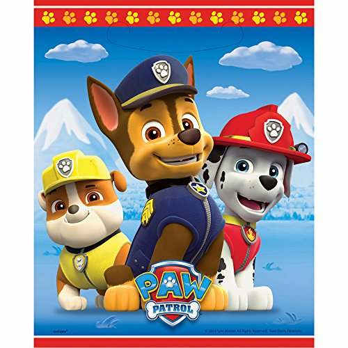 Unique Industries PAW Patrol Goodie Bags, 8ct