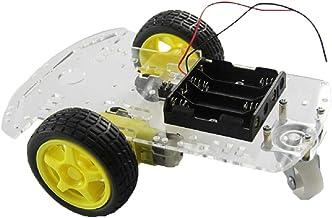 Gazechimp 2WD RC Smart Robot Car Chasis Kit con Motor TT para Raspberry Pi DIY, Fácil Montaje