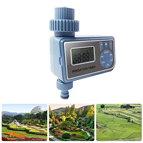 lennonsi Bewässerungssteuerung, Bewässerungsvorrichtung des Ausgangs Timer der Bewässerung des Gartens mit LED-Licht, Konfiguration multiciclo, intelligente Synchronisation