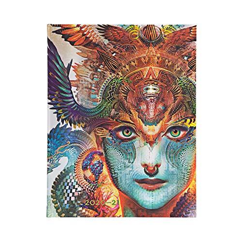 Paperblanks 18-Monatskalender 2020-2021 Dharma-Drache | Vertikal | Ultra (180 × 230 mm)