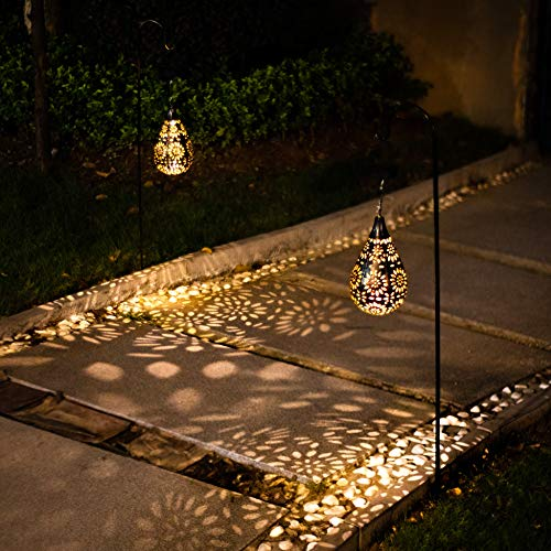 12 Best Solar Powered Outdoor Hanging LED Lights Reviews 9
