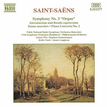 SAINT-SAENS: Symphony No. 3 / Piano Concerto No. 2