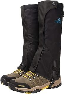 SJJSP Shoe Covers Waterproof Shoe Cover Sandproof Shoe Cover Outdoor Hiking Shoe Cover Ski Sport Special Shoe Cover Adult Ski Shoe Cover (Color : Black, Size : M)