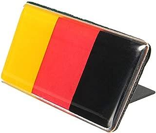 1PC German Germany Flag Emblem Badge Fit Germany Car Front Grille For Audi BMW Mercedes Porsche Volkswagen, etc
