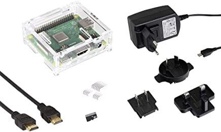 MAKERFACTORY Raspberry Pi 3 Model A 512 MB Noobs incl. Sistema operativo Noobs, incl. Contenitore, incl. Alimentatore - Trova i prezzi più bassi