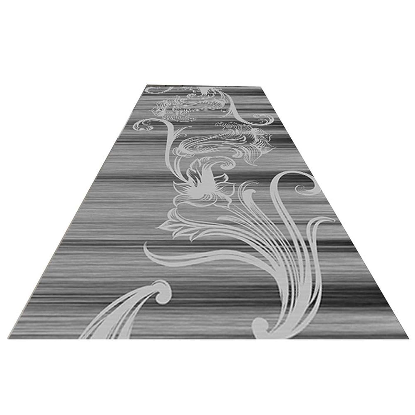 抽象枠筋肉のLJJL 廊下のカーペット ラグランナー、産業ヘビーデューティ廊下ランナーマットカーペット洗濯機で洗え小さな入口ランナーマット (Size : 60×100CM)