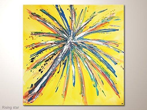 Wandbild abstrakt bunt Sternschnuppe